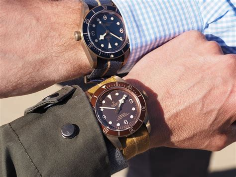 Tudor Style by Introducing The Tudor Black Bay Bronze Blue Special
