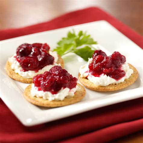 zippy cranberry appetizer recipe taste of home