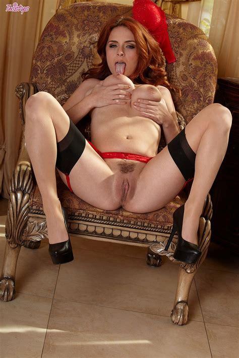 Busty Redhead Ashley Graham In Sexy Lingerie Boobgoddess