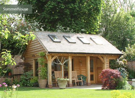 Garden Summerhouses Summerhouses Outdoor Living Cheshire Oak Structures