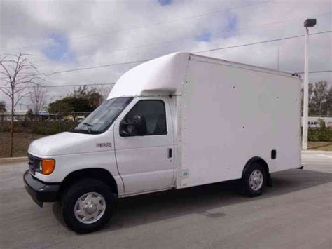 small engine maintenance and repair 2004 ford e350 electronic toll collection ford e350 econoline commercial cutaway box truck 2004 van box trucks