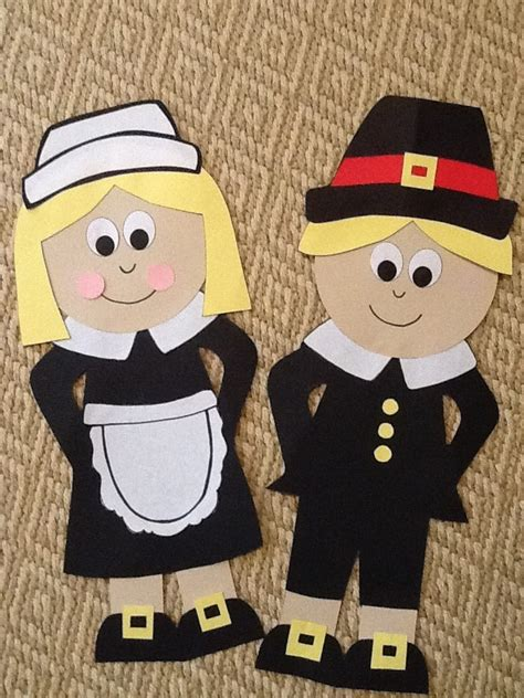 pilgrim craft for thanksgiving day craft idea for crafts and