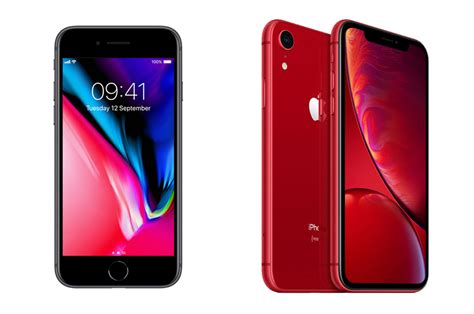 iphone xr vs iphone 8 should you buy the cheaper phone whistleout