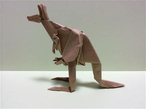 How To Make An Origami Kangaroo - origami kangaroo tokyoing