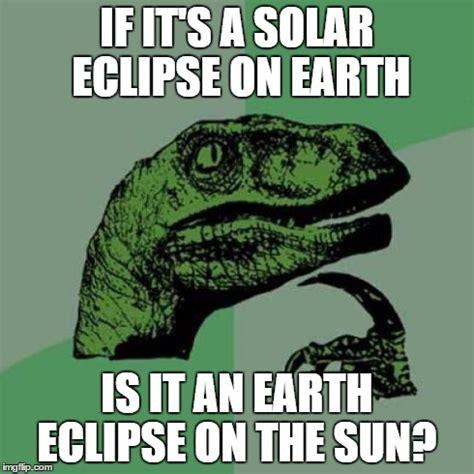 Solar Meme - philosoraptor meme imgflip