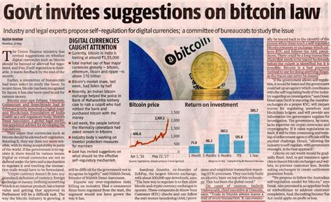 articles on bitcoin and crypotcurrency as they relate to is india ready to introduce its own crypto currency