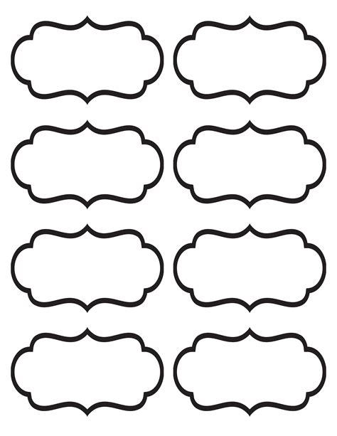 printable stickers template printable labels organization tips pinterest binder
