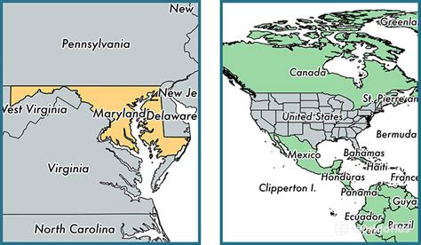 united states map of maryland where is maryland state where is maryland located in