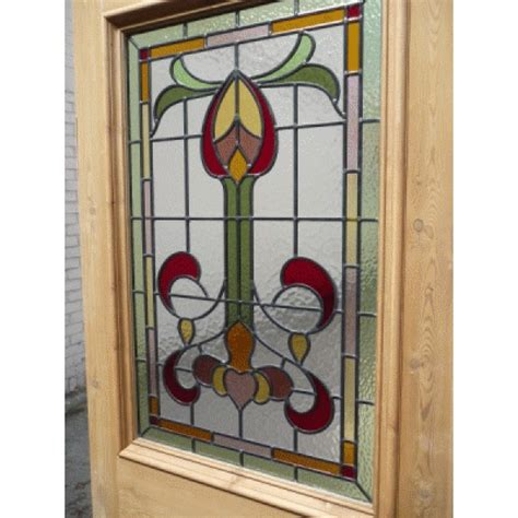 edwardian stained glass front door doors sd009 edwardian original stained glass