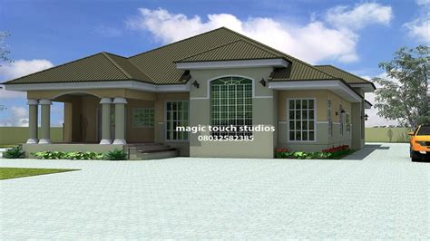 in house plans 5 bedroom floor plans 5 bedroom bungalow house plan in nigeria best bungalow design
