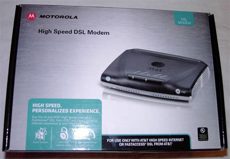 Modem Speedy motorola 3360 2210 standard high speed dsl modem boxed