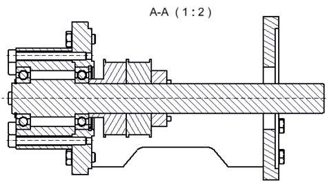 technisches zeichnen schnitt konstruktion konstruieren