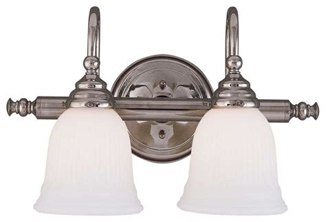 Traditional Vanity Lights Brunswick 2 Light Bath Bar Traditional Bathroom Vanity Lighting By Savoy House