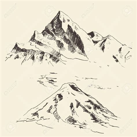 Sketches Mountains by Best 20 Mountain Drawing Ideas On Mountain
