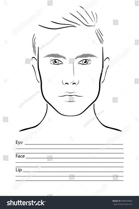 male makeup face chart mugeek vidalondon