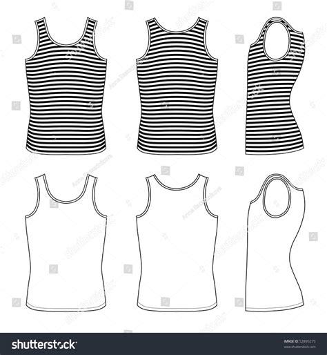 outline black white pants vector illustration isolated on outline blackwhite striped vest vector illustration stock
