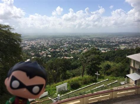 mt st benedict trinidad view of the city from mount st benedict s monastery