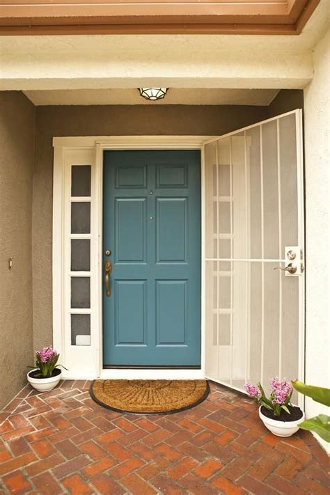 most beautiful door color creating curb appeal before and afters gardens exterior colors and the doors