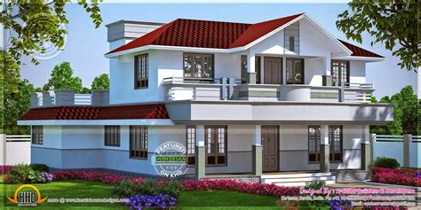 beautiful home plans beautiful home in kerala in 298 square yards kerala home