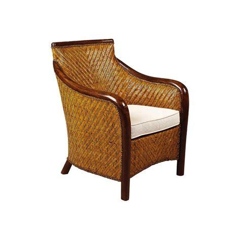 fauteuil bois fauteuil rotin patin 233 et bois nihad avec coussin