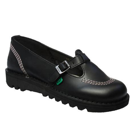 kickers toddler sandals kickers kick lo t leather womens school buckle