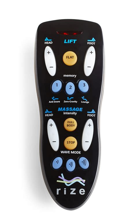 remote for rize contemporary ii and avante adjustable beds