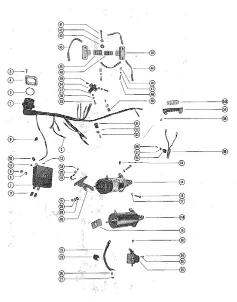 Mercury Marine Model 800 80 HP (6 Cylinder) Starter Motor
