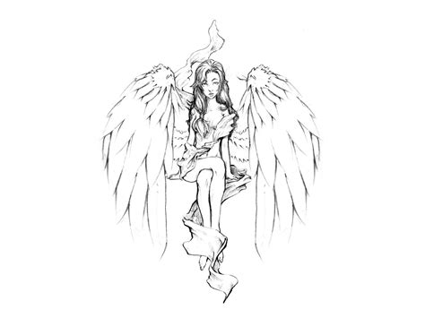 pictures of angel tattoo designs designs ideas pictures
