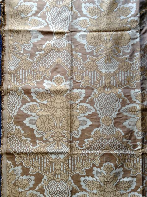 english upholstery fabric english silk upholstery fabric 1yd beige gold by