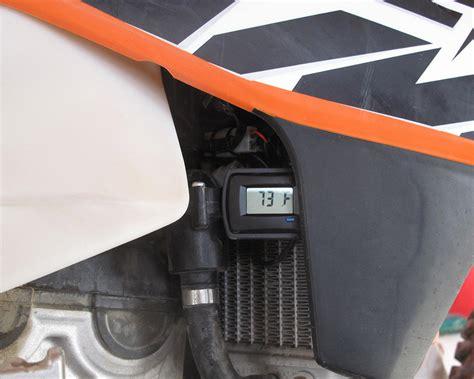 dirt bike radiator fan kit trail tech digital radiator fan kit dirt bike test