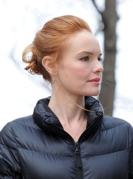 Kate Twisted by Kate Bosworth Twisted Bun Kate Bosworth Updos Lookbook