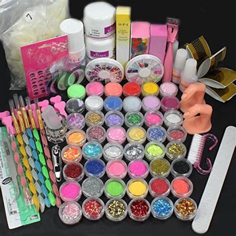 Acrylic Nail Set by Us Seller 25 In 1 Acrylic Nail Tips Set Acrylic