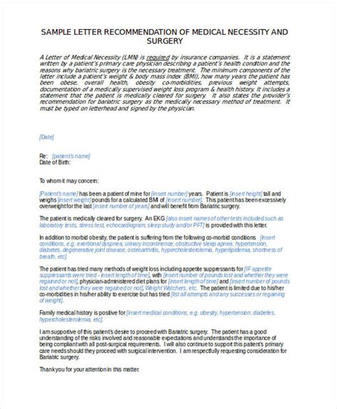 Bariatric Cover Letter by General Recommendation Letter Exles Cover Letter Templates