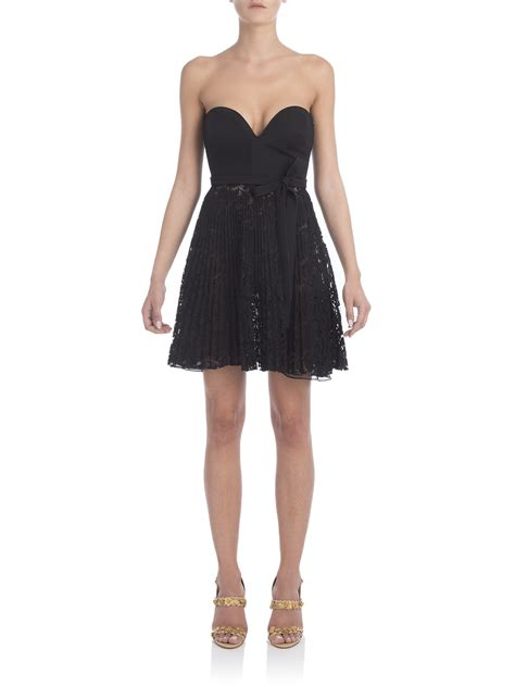 Valentino Sweetheart Bag valentino sweetheart strapless lace dress in black save