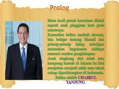 Buku Chairul Tanjung Si Anak Singkong power point bedah buku chairul tanjung si anak singkong