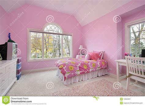 Royalty Furniture by Quarto Da Menina Cor De Rosa Imagem De Stock Imagem