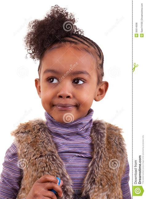 cute hairstylesondoesross for black people portrait of an african american little girl black people