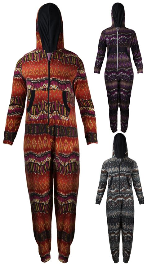 tribal pattern jumpsuit new womens aztec tribal print onesie jumpsuit ladies long