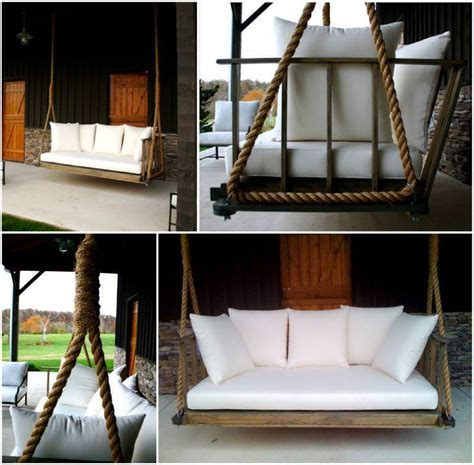 how to build a porch swing bed creative ideas diy giant porch swing