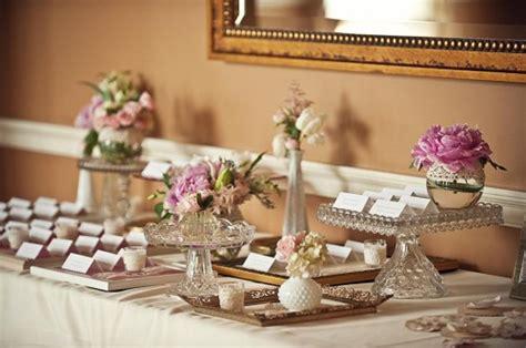 wedding place card table decorations vintage wedding ideas