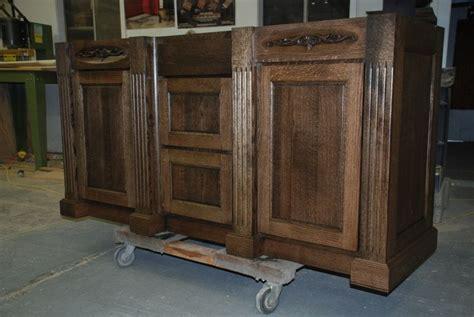 quarter sawn oak bathroom cabinets hand made quarter sawn oak vanity by daniel cabinets