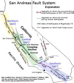 northern california fault lines map 3d 4d mapping of the san andreas fault zone