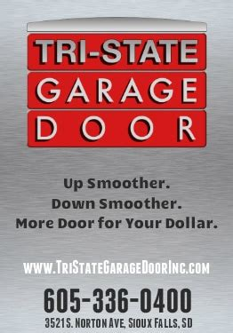 Tri State Garage Door Tri State Garage Doors Openers Service Repair Sioux Falls South Dakota