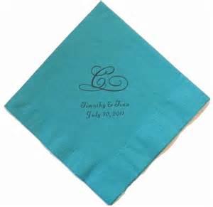 wedding napkins monogram napkins monogrammed wedding napkins initial