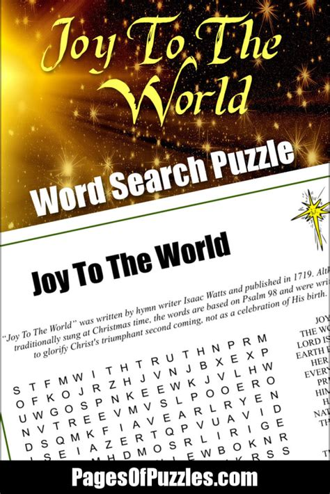 World Pages Lookup To The World Word Search Pages Of Puzzles
