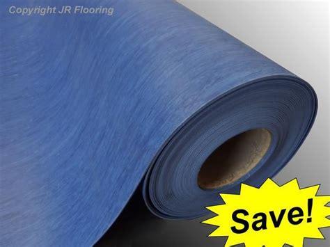 heavy duty commercial vinyl floor roll blue save ebay
