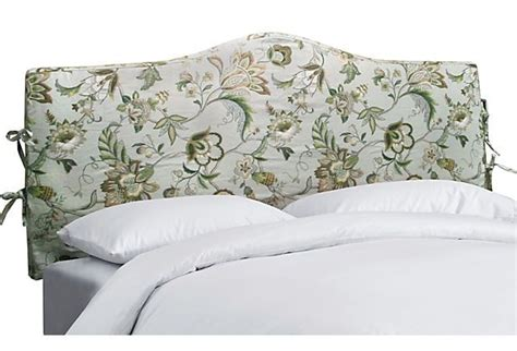 headboard slipcover king home furniture design
