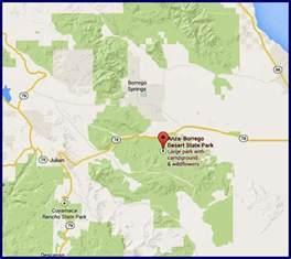 anza borrego desert state park in southern california