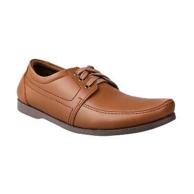 Gambar Sepatu Cowok Yongki Komaladi jual yongki komaladi bas 1130 l15 casual sepatu pria coklat harga kualitas terjamin