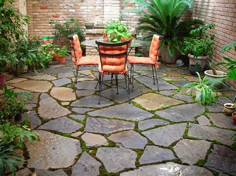 backyard stone patio 5 ways to beautify your backyard aden earthworks